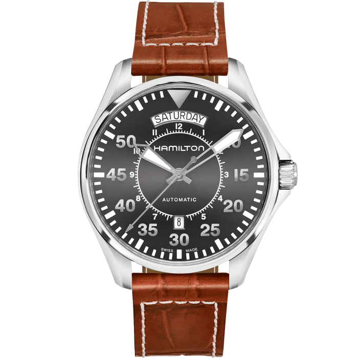 Hamilton Khaki Aviation Pilot Day Date Auto